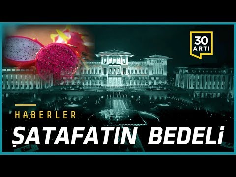 Saray israfı…Enflasyon %24,5…ABD'de Erdoğan tepkisi…Nobel Kimya Ödülü…Endonezya'da yanardağ patladı…