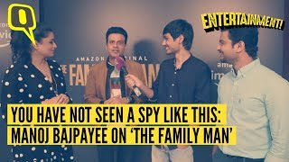Manoj Bajpayee, Priyamani on Working in Amazon Prime's The Family Man   The Quint