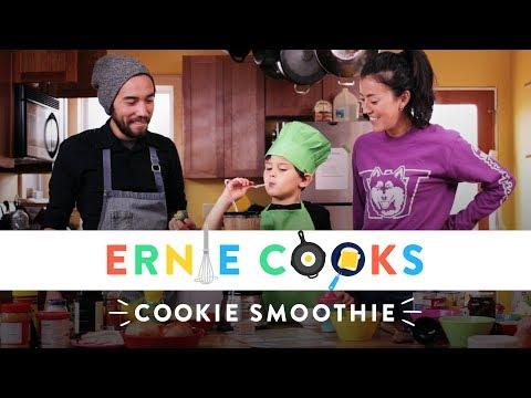 Ernie Makes a Cookie Smoothie | Ernie Cooks