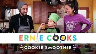 Ernie Makes a Cookie Smoothie | Ernie Cooks | HiHo Kids