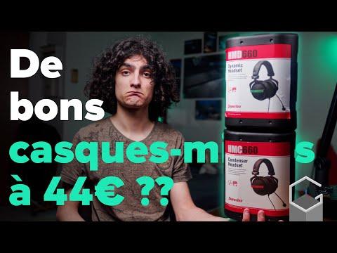 DES CASQUES MICROS XLR À 44€ ? | Présentation des Superlux HMD-660X et HMC-660X