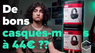 DES MICROS CASQUES XLR À 44€ ? | Présentation des Superlux HMD-660X et HMC-660X