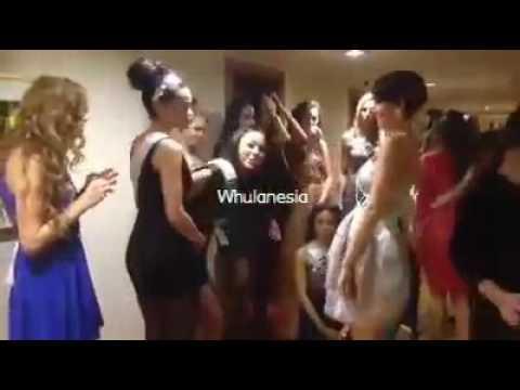 Whulandary Herman during Miss Universe 2013 Quarantine