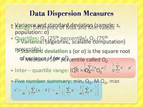 Data pre processing – 1 Summarization and Cleaning Methods