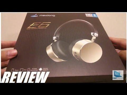 5e6ef48243c REVIEW: Meidong E6ANC Noise-Cancelling Bluetooth Headphones - YouTube