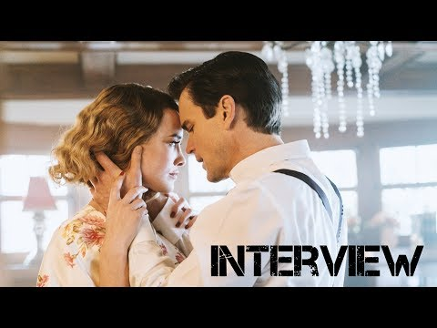 "MATT BOMER + DOMINIQUE MCELLIGOTT ""THE LAST TYCOON"" INTERVIEW 