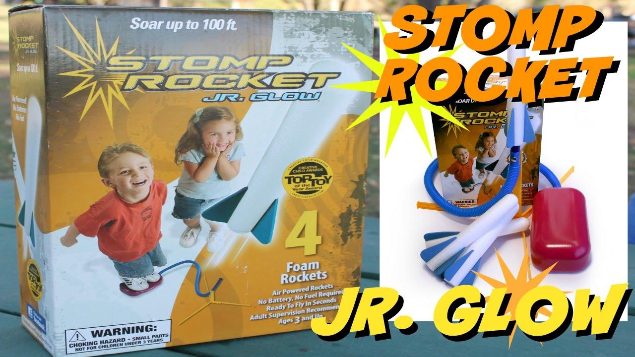 Stomp Rocket Jr Glow Youtube