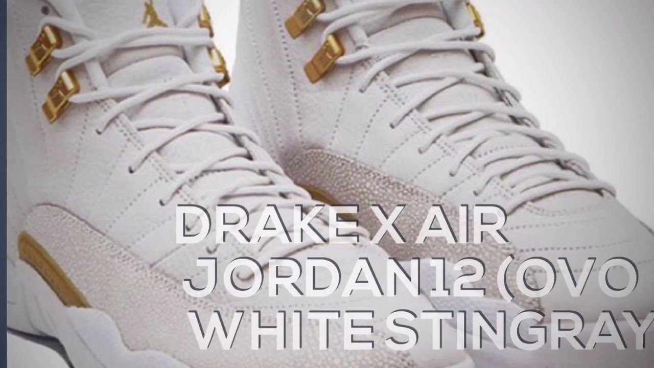 reputable site 028d8 12d8d ... discount code for drake x air jordan 12 ovo white stingray sneakers t  a3b69 6ce01