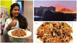 Snowy Spring || A Wednesday Vlog || Jhuro Alubhaja Recipe