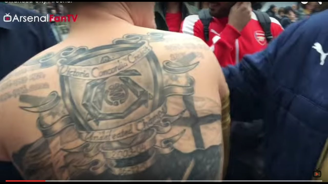 Tattoo Tuesday Check Out The Best Arsenal Fc Fans Ink