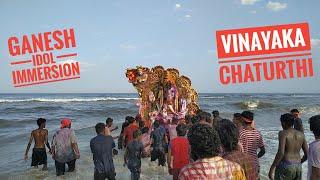 Vinayaka idol immersion in marina beach chennai | complete coverage of ganesh idol immersion |