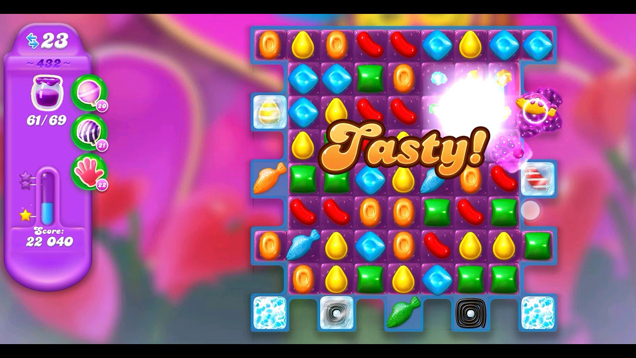 how to beat level 432 in candy crush