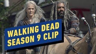 The Walking Dead: Season 9 Clip - Carol and Ezekiel Take on Walkers