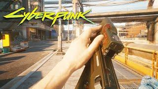Cyberpunk 2077 NEW GAMEPLAY & WEAPONS