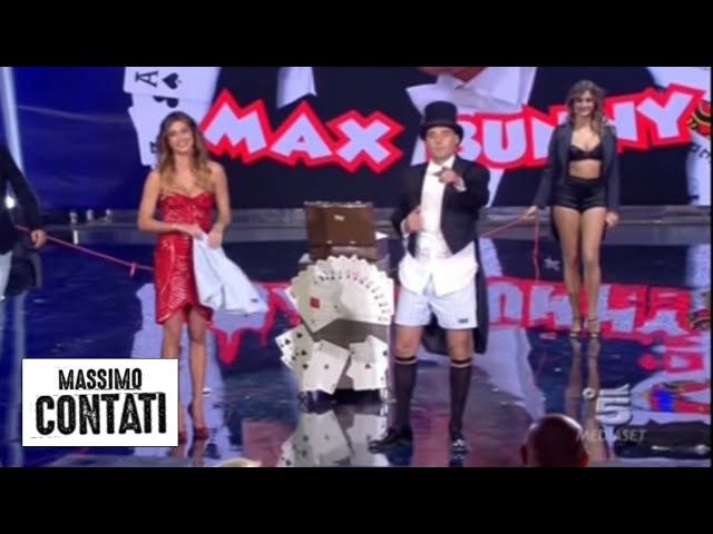 Massimo Contati a Italia's got talent in mutanda prevision