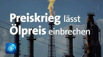 Preiskrieg zwischen Russland und Saudi-Arabien: Ölpreise brechen ein