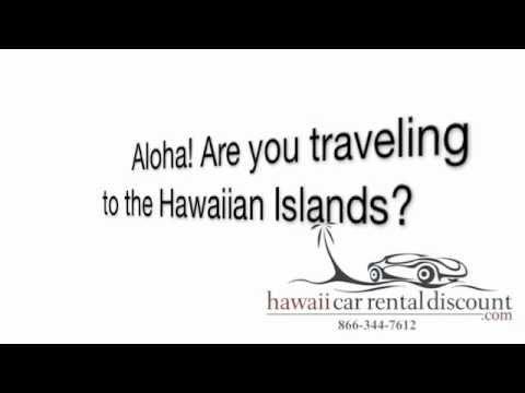 Hawaii Car Rental Discount 1-866-344-7612