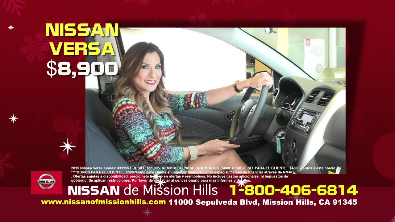 Awesome Nissan Of Mission Hills Xmas Espa For Review Only