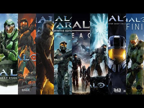 The Evolution Of Halo Games (2001-2020)