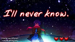 Chester See Nightcore -(A Life Of Regrets) Song and lyrics~ A Chester See Original
