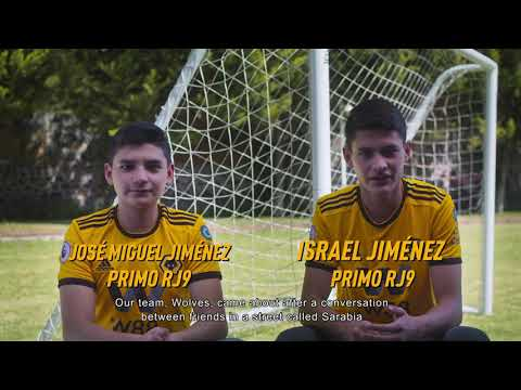 Introducing Los Lobos | The Mexican team wearing Wolves kits in Raul Jimenez's home town!