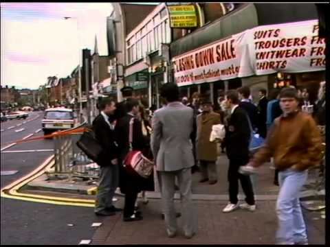 EALING BROADWAY - BOMB SCARE. 21 MAY 1987