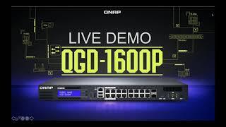 QNAP UK Webinar on the QGD-1600P