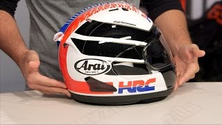 arai corsair x hrc helmet review at revzilla com