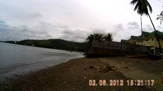 Calatrava Negros Occidental Shoreline during Tsunami Alert # 2, January 6, 2012.
