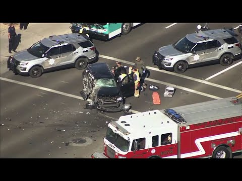 Phoenix High Speed Chase Ends With Crash