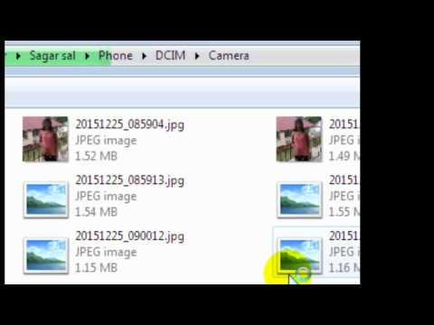 How To Transfer Pictures From Android Phone To PC