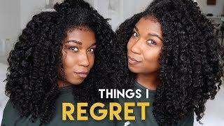 CHAT - 3 Things I Stopped Doing + REGRET - Natural Hair thumbnail