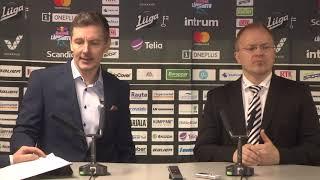 SaiPa–TPS -lehdistötilaisuus 18.12.2018