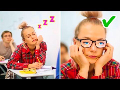 GET READY FOR SCHOOL! 25 Fun school life hacks