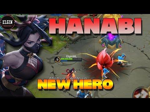 HANABI IS RELEASED! - HANABI SKILL EXPLANATION - NEW HERO HANABI MOBILE LEGENDS