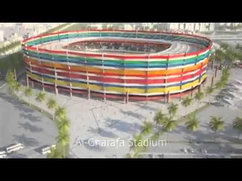 Mondiali 2022: ecco gli stadi che verranno costruiti in Qatar