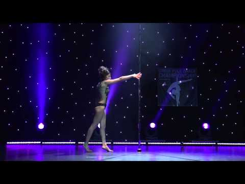 Mandy Fragkiadaki - Greek Pole Dance Championship 2015 by Rad Polewear