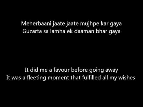 Raabta - Lyrics with English Translation