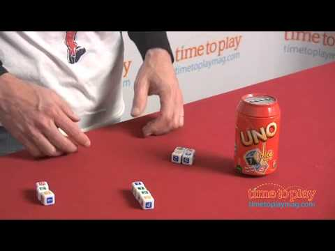 Uno Dice Game From Mattel Youtube