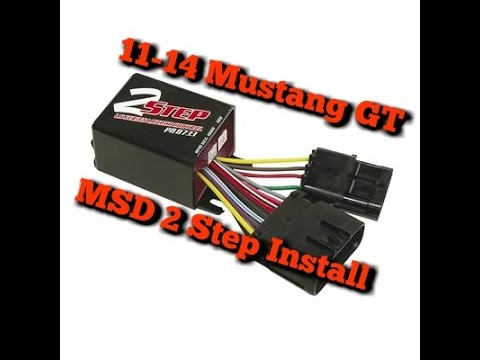 How To Install Msd 2 Step Rev Limiter 2011 2014 Ford Mustang Gt