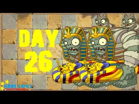 Plants Vs Zombies 2 - Ancient Egypt - Day 26 [Zombies] No Premium
