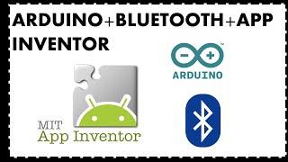 ARDUINO+BLUETOOTH+APP INVENTOR