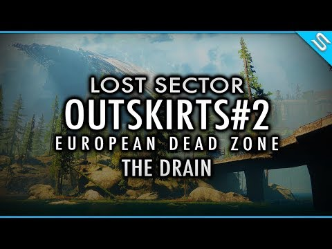 Destiny 2 - Wanted Metal Captain - Lost Sector Outskirts - EDZ - The Drain