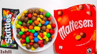 Unpacking Skittles and Malteser Candy with Rhymes from Ishfi