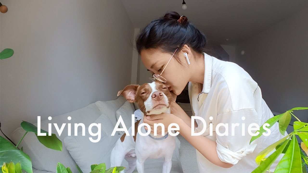 Living Alone Diaries | A casual week in my life as a homebody, cute home decor, city life!