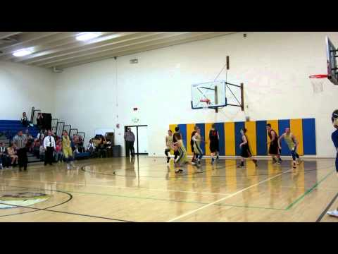 West Minico Middle School vs O'Leary 2.17.15 Highlights