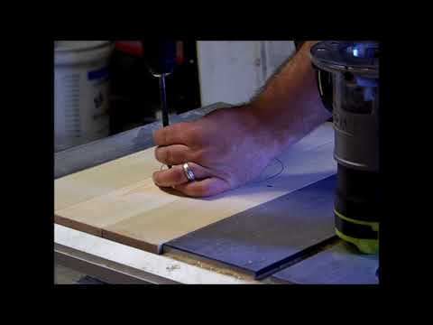 making a router table for my table saw