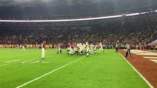 Vol Players and Coaches On-Field Reaction to Alabama Loss