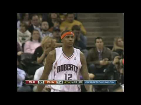 Tyrus Thomas & Theo Ratliff First Game in Charlotte Bobcats Highlights - Block Party