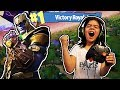 MY 5 YEAR OLD LITTLE SISTER PLAYS FORTNITE! THANOS GAMEPLAY BY 5 YEAR OLD GIRL!!